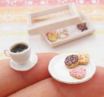 12th scale cookie+coffee set2 by PetiteCreation