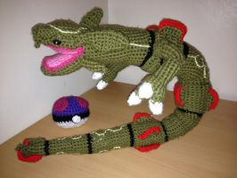 Rayquaza Crochet by Mr-Nova