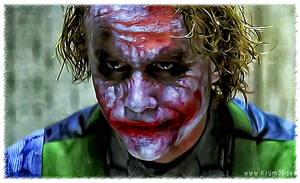 Joker 3 - Heath Ledger by kruemel-sangerhausen