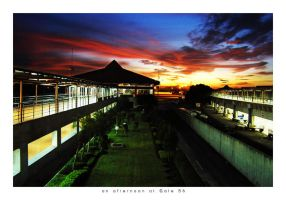 an afternoon at Gate B6 by sigpras