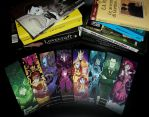 Lovely Lovecraft Bookmarks! :D by MalakiaLaGatta