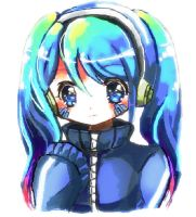 vocaloid : Ene by curamix666