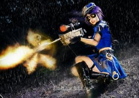 Caitlyn - League of Legends by johann29