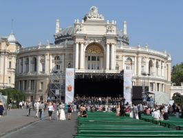 Odessa National Acad. Theater of Opera and Ballet by Paul774