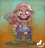 Mario, the Plumber by JINNdev