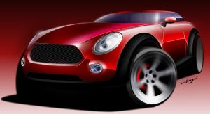 Sample of my Car design work 3 by wisign