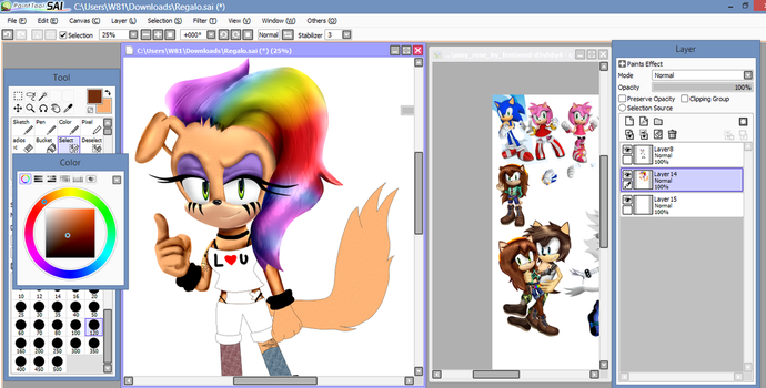 (Wip) .::Regalo en 3D para...::. by andreaplayed12