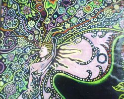 Psychedelic Fairy detail by Shroombaybe