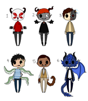 Adoptables #11 ~ [CLOSED] by HaileyWailey