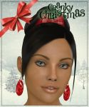 Christmas Earrings for Dawn Freebie by art-by-Amaranth
