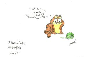Sdw05 - Garfield by CrazyFoxMoon