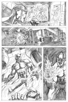 Fantastic Four Page 3 by craigcermak