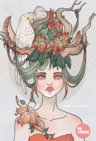 Gaia by bunnycoffee