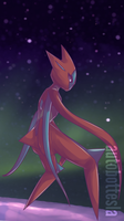 Attack Deoxys Commission