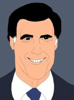 Mitt Romney by GamerZzon