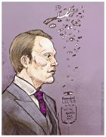 Hannibal : Hannibal Lecter by 666solitaryman