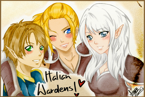 Italian Wardens by Ainwen27