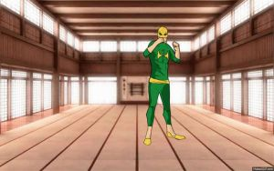The Immortal Iron Fist and his technicolored dojo by tinyguy712