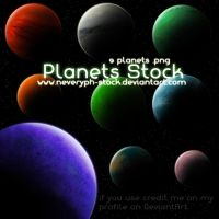 Planets Stock png by Neveryph-stock