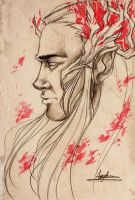 Thranduil the Elvenking by AngieParadiseeker