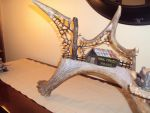 Moose Antler Mail Pouch Barn by aaroncr