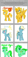 .:MLP: Character Creator Meme:. by Goddess-of-BUTTSECKS