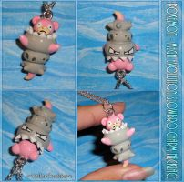 Pokemon - Mega Evolution Slowbro Charm Necklace