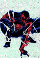 Color Spider-Man 2099 by Venom20XX