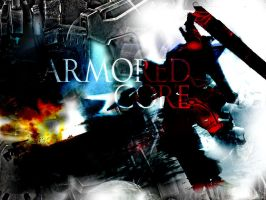 Armored Core Wallpaper by Kamaroth92