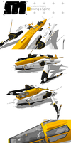 Stryder Modularity's Mako: WIP Part 2 by Pixel-pencil