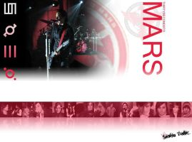 30 seconds to mars wallpaper by Delilah-Polka-Dotts