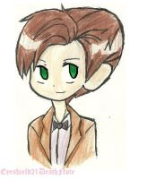 the doctor chibi by ThePastelHobbit