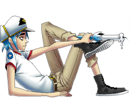 white eyes 2D by Quere