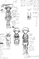 Sketches: Sorcerer's Symphony Casual 5 by MaryKosmosVer2