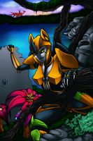AT: Light Claws by DecepticonCyberWolf