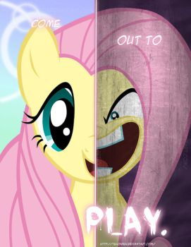 MLP - Two Sides of Fluttershy by TehJadeh