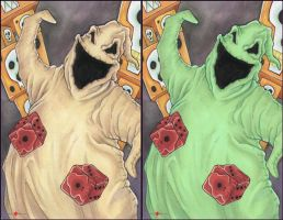 The Nightmare Before Christmas Oogie Boogie by ChrisOzFulton