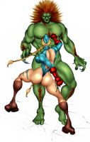Cammy v Blanka by Selkirk by carol-colors