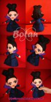 chibi Regina Mills plush version by Momoiro-Botan