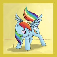 Rainbow Dash by Branded-Rose