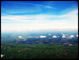 Northern Germany from the Air by LadyElleth