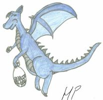 Old Dragon Pic by HowlerPups