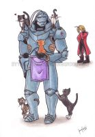 FMA - His softer side by LazyJenny