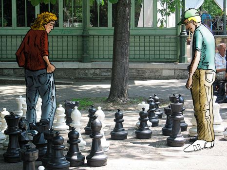 Chess game by Corey24