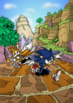 Sonic Boom Comic by Adamis - Coloured by MamboCat