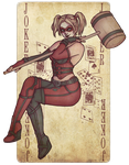 Harley Quinn PinUp (Gift) by sterces7
