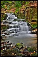 Lumsdale Falls by Megglles