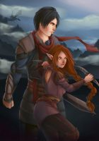 Mari and Kyle by elotta