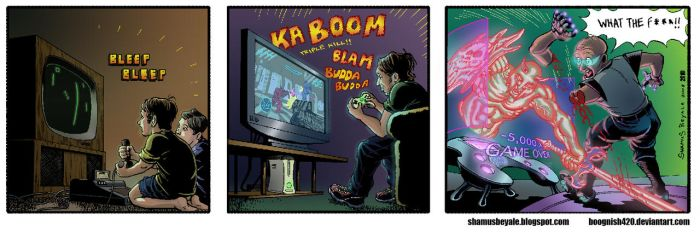 Growing Up With Video Games... by boognish420