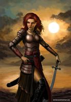 The Dawn Flower by SirTiefling by abellius